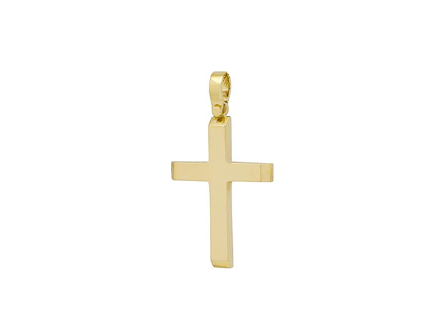 Βαπτιστικός Χρυσός Σταυρος κ14 C380.32