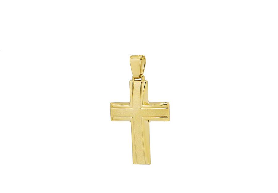 Βαπτιστικός Χρυσός Σταυρός κ14 CP112