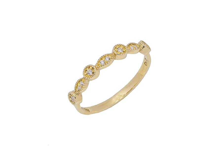Xρυσό δαχτυλίδι K14 KA505G