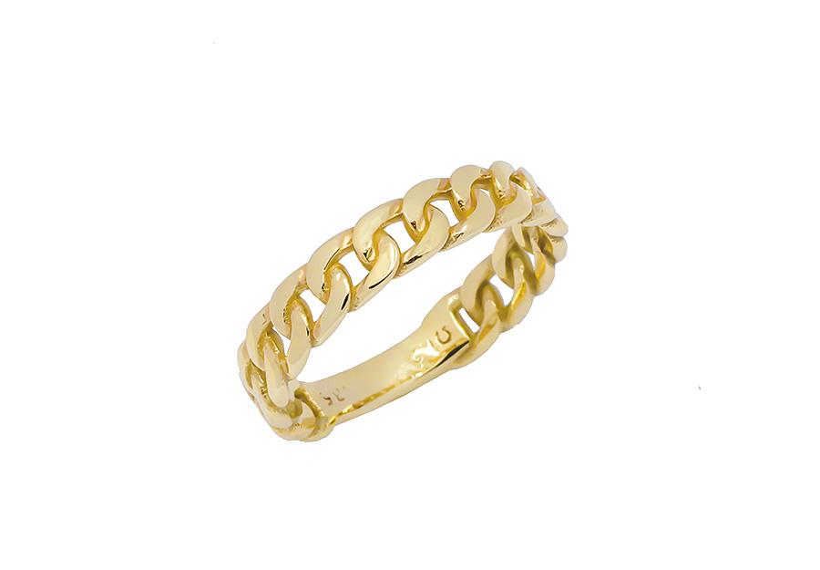 Xρυσό Δαχτυλίδι K14 KA509G