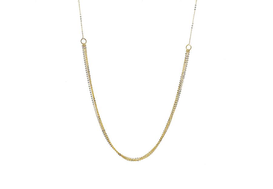 Χρυσό Κολιέ Κ14 DIM215G