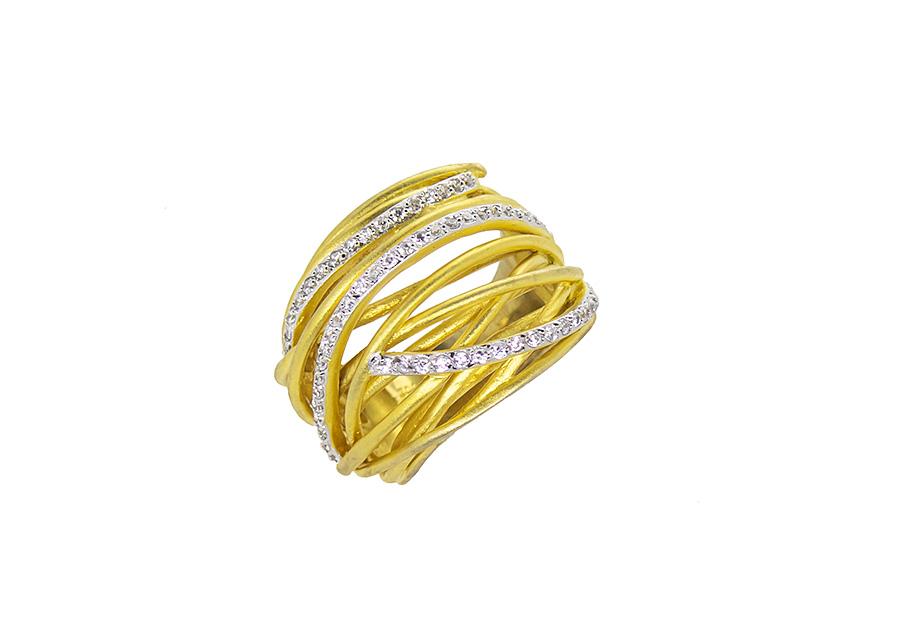 Ασημένιο Δαχτυλίδι 925 TR355