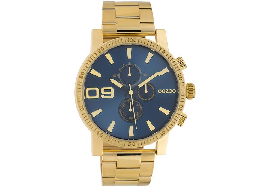 OOZOO Timepieces Chronograph Gold Metallic Bracelet C10707