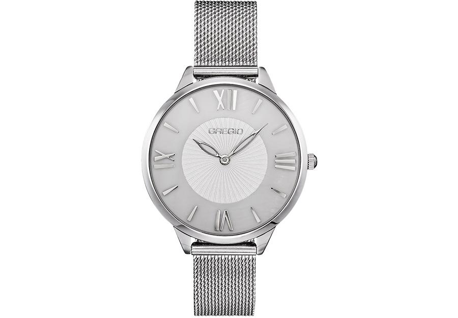 GREGIO Vassia Kostara Collection Silver Stainless Steel Bracelet VK270010