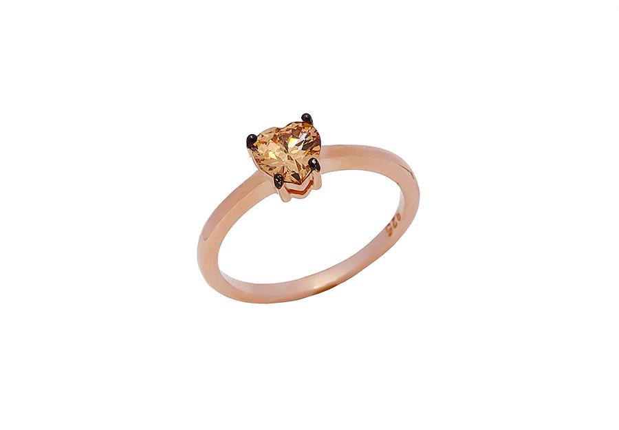 Ασημένιο Δαχτυλίδι 925 ASK31HR